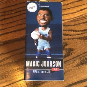 Dodgers Magic Johnson Bobble head
